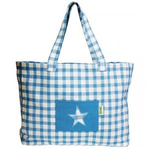 Beach Bag (blauw) - Win Green (2301)