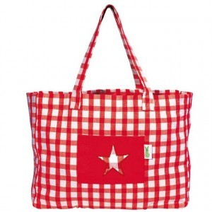 Beach Bag (Rood) - Win Green (2303)