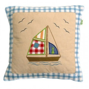 Beach House Playhouse Cushion Cover - Win Green (1602)