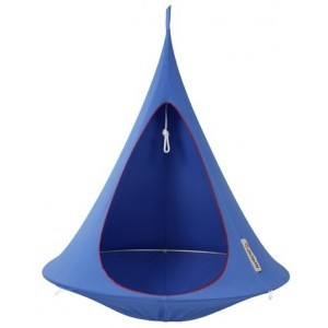 Hangende tent Cacoon Sky Blue 1 persoon
