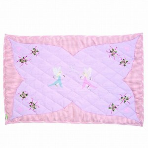 Fairy Cottage Floor Quilt (klein) - Win Green (1304)