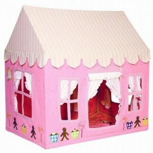 Gingerbread Cottage (groot) + Floor Quilt Win Green
