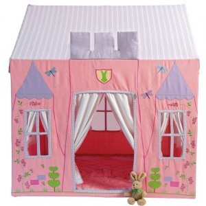 Prinsessen speeltent - Princess Castle klein+ Floor Quilt (Win Green)