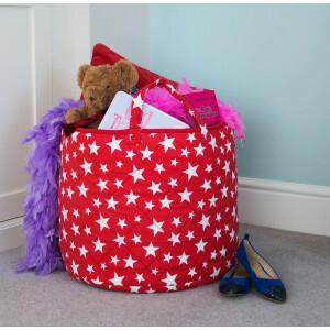 Star Toy Basket (Rood) - Kiddiewinkles (REDSTB)