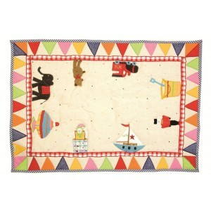 Toy Shop Playhouse Floor Quilt (groot) - Win Green (1210)
